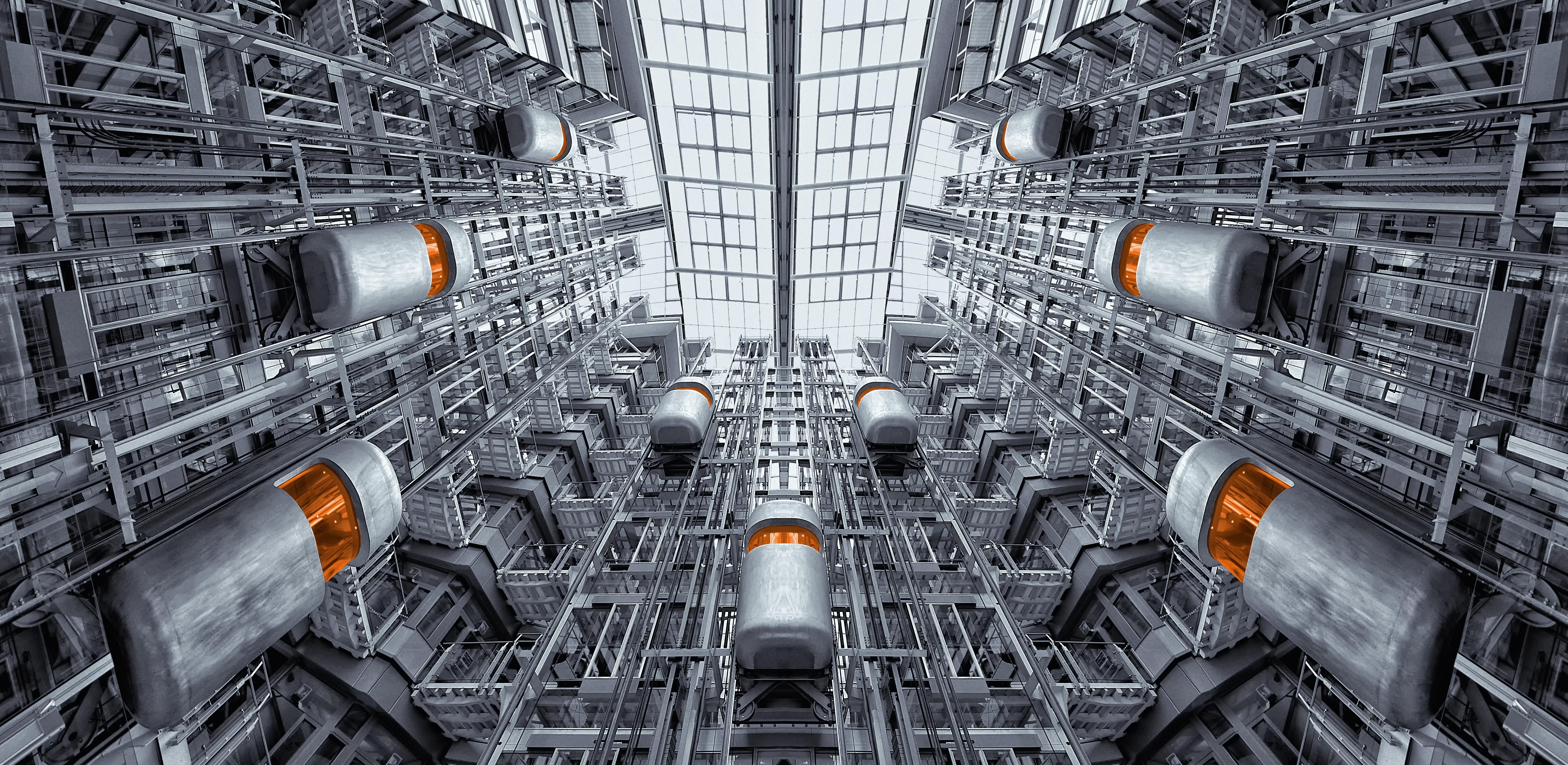 industriele omgeving