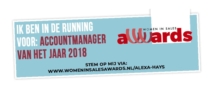 alexa women in sales award